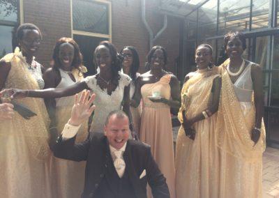 Franstalige bruid, Nederlandstalige bruidegom,  speech door Anke Minnee