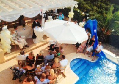 Babs Anke Minnee in Spanje bij een ceremonieel huwelijk