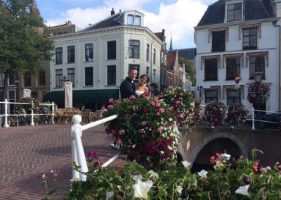 Babs Anke Minnee trouwt ook in romantisch Leiden