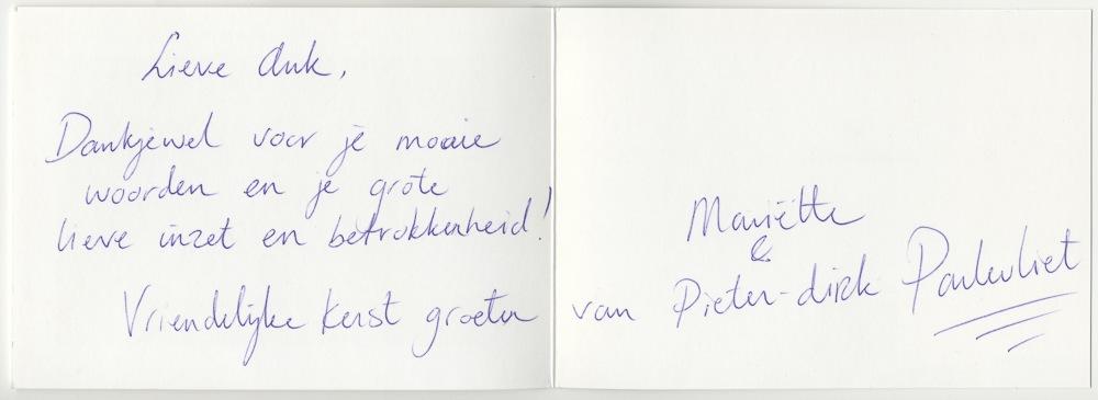 Mariëtte & Pieter-Dirk