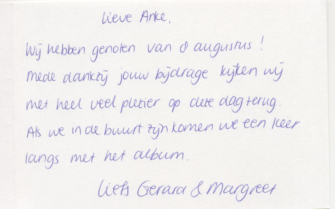 Margreet & Gerard