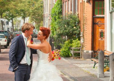 Babs Anke Minnee trouwt haar neef met zijn grote liefde