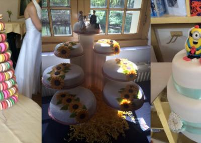 Bruidstaarten na speech door Anke Minnee