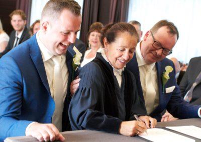 Humor in de trouwzaal met Babs Anke Minnee